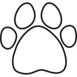 Bones clipart dog paw
