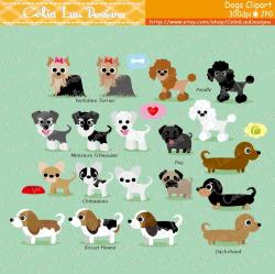 Dachshund clipart cute dog