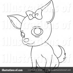 Chihuahua clipart draw a