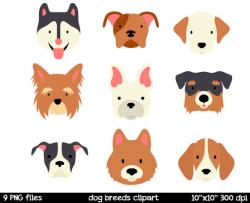 Pets clipart dog face