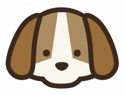 Beagle clipart face