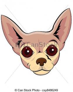 Chihuahua clipart head