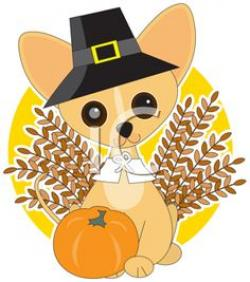Thanksgiving clipart puppy