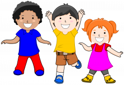 Jump clipart active child