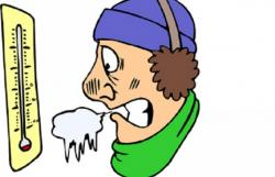 Chilling clipart cold outside