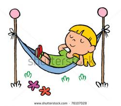 Hammock clipart relaxation