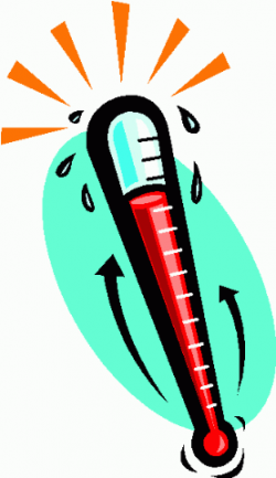 Chilling clipart thermometer fever