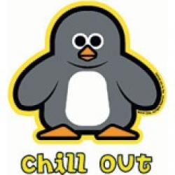 Chill clipart penguin