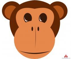 Orangutan clipart face