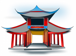 Temple clipart ancient china