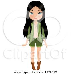 Asians clipart chinese woman