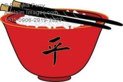 Chopsticks clipart china