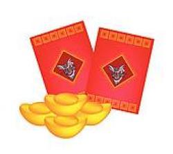 Chinese clipart hong bao