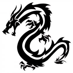 Dragon clipart vinyl