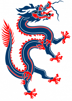 Chinese Dragon clipart oriental