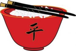 Fans clipart chinese bowl