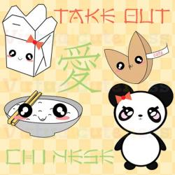 Japanese Food clipart cute panda