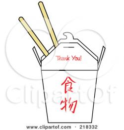 Chinese Food clipart carton