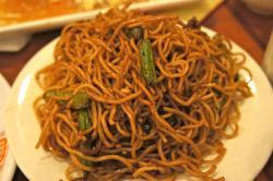 Chopsticks clipart fried noodle