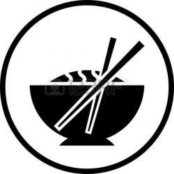 Chopsticks clipart vector