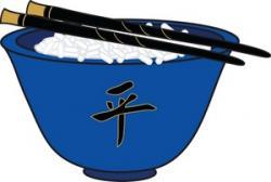 Chopsticks clipart rice