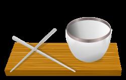 Chopsticks clipart animated