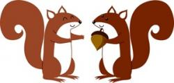 Red Squirrel clipart chipmunk
