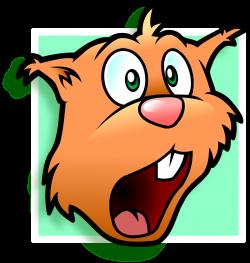 Chipmunk clipart head