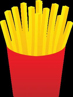 Potato Chips clipart mcdonalds fry