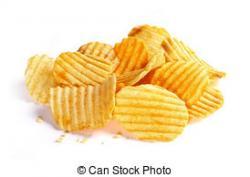 Potato Chips clipart wafer