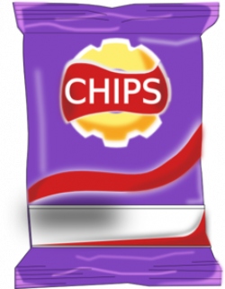 Chips clipart chip packet