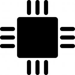 Chips clipart microchip
