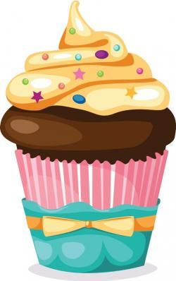 Cupcake clipart ten
