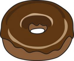 Dunkin Donuts clipart chocolate donut