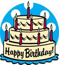 Tart clipart happy birthday