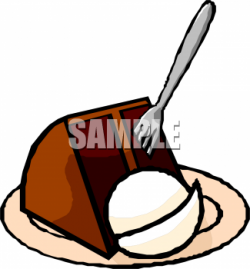 Chocolate Cake clipart ice cream cake