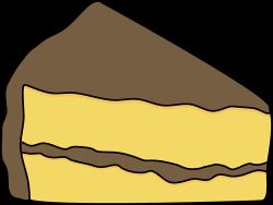Frosting clipart vanilla cake