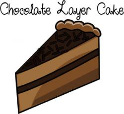 Chocolate Cake clipart sliced cake