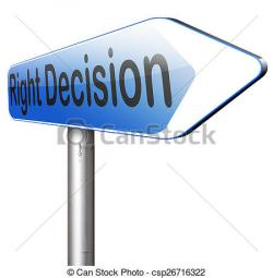 Choice clipart right decision