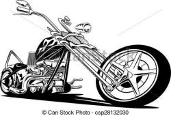 Flames clipart chopper
