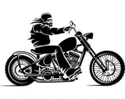 Chopper clipart motor