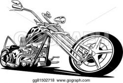 Chopper clipart motorcycle engine
