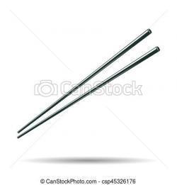 Chopsticks clipart vintage