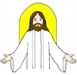 Jesus clipart Jesus Face Clipart