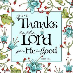 Thanksgiving clipart scripture