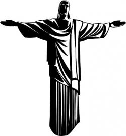 Christ The Redeemer clipart