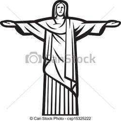 Statue clipart brazil