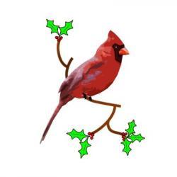 Chickadee clipart Cardinal Clipart