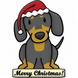 Dachshund clipart animated