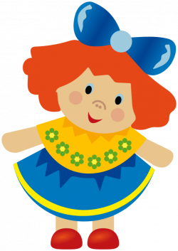 Ragdoll clipart toy doll